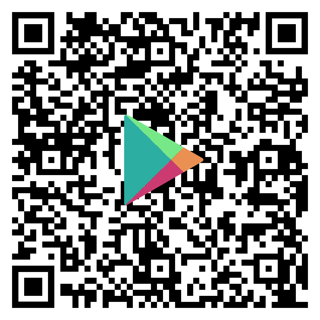 QR code to download ParentSquare Mobile app for Android