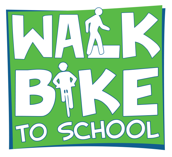 Walk and Bike to School Logo